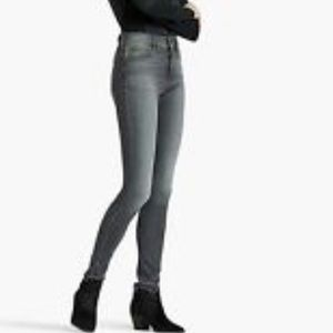 Bridgette high rise skinny gray wash